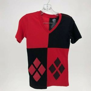 DC Comics Harley Quinn Top Size Small Pullover